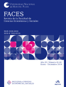FACES. Revista de la Facultad de Ciencias Económicas y Sociales / ISSN 0328-4050